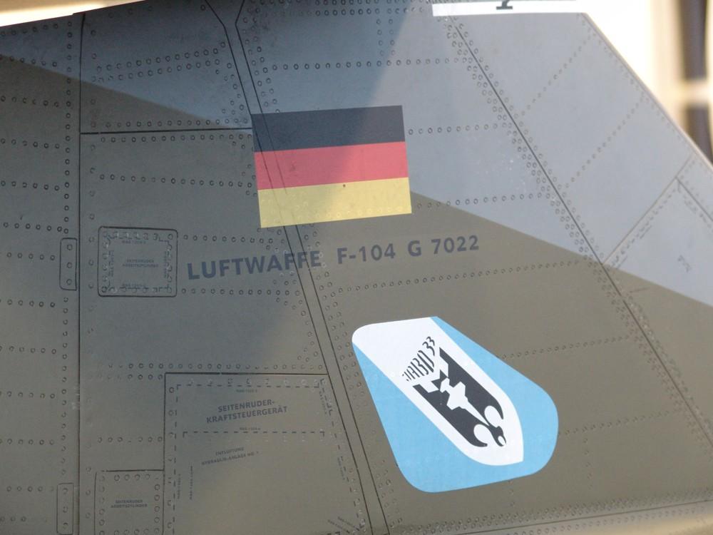 F-104 Starfighter_Auftragsmodellbau-Modellbauservice