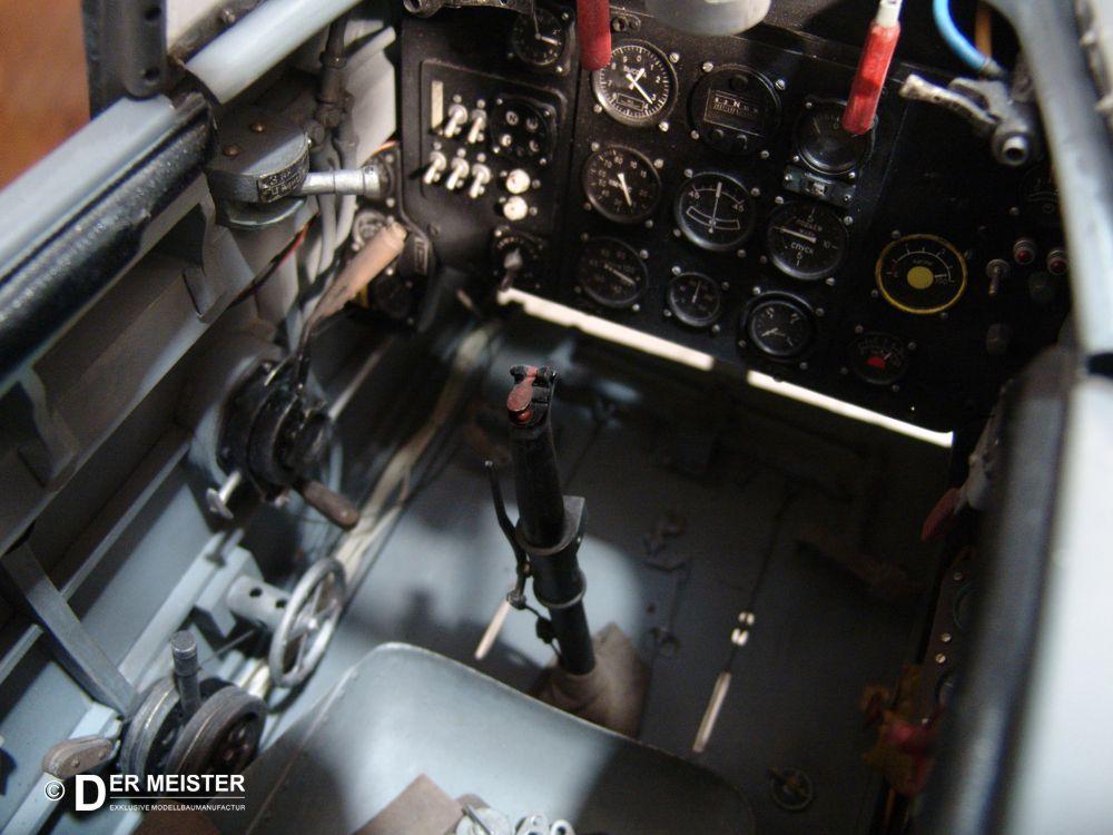 Flugzeugmodellbau Scale Cockpit
