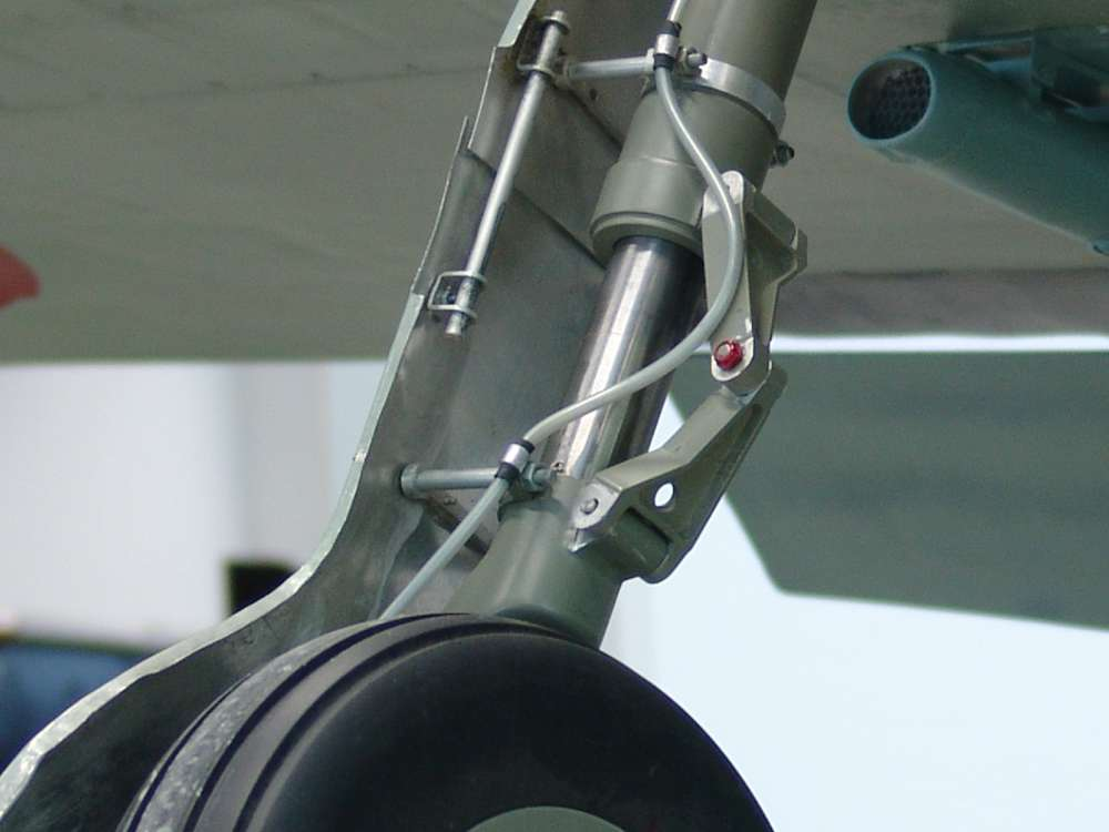 Warbird-Fahrwerk-Nakajima Ki84